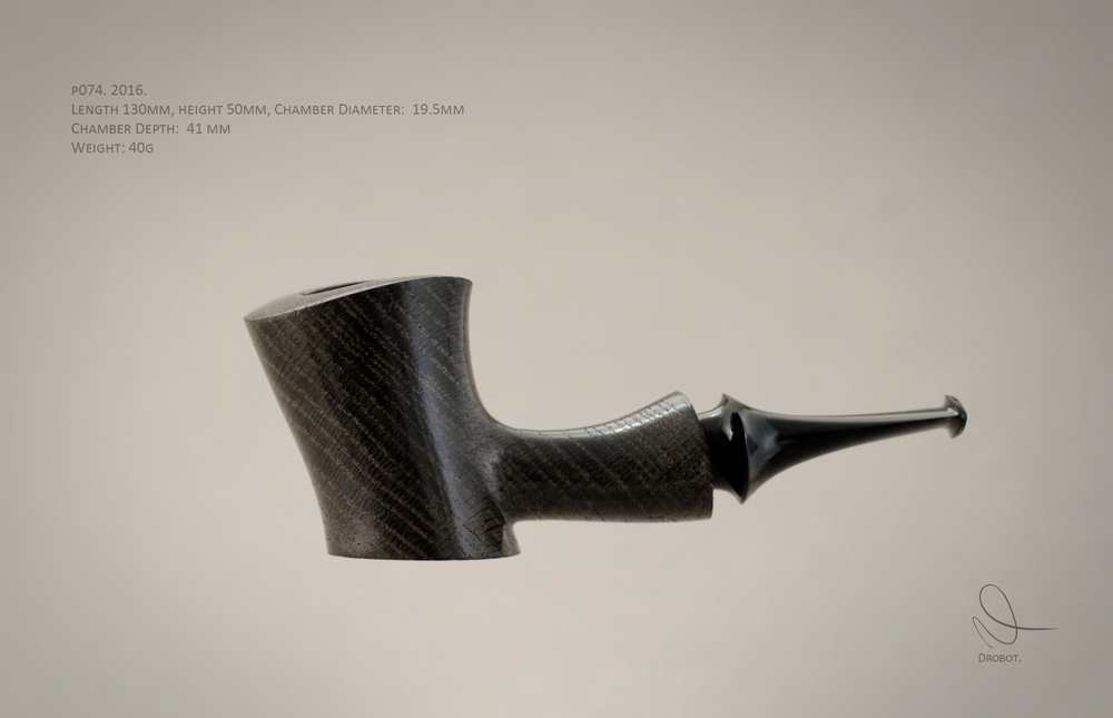Alexandr Drobot Smoking Pipe